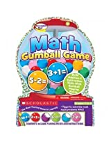 Scholastic Math Gumball Game K To 2, Addition & Subtraction Skills With Gumball Playing Pieces