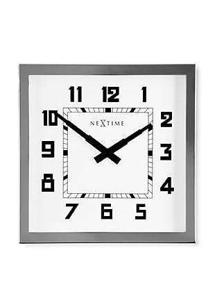 NeXtime Bath Wall Clock (Silver)