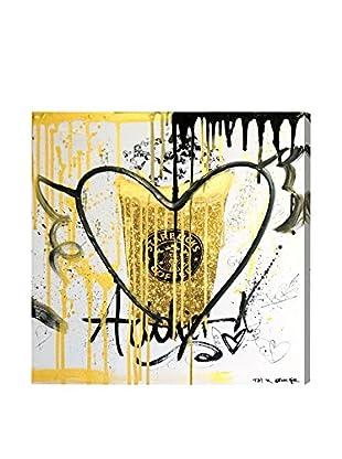 Oliver Gal Glitter Fuel Remix Canvas Art