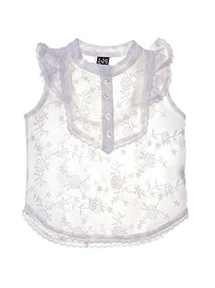 Sigris Blusa de niña (Blanco)