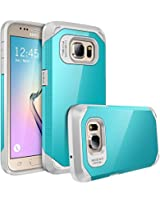 Galaxy S7 case, E LV Samsung Galaxy S7 (SHOCK PROOF DEFENDER) Slim Case Cover - Impact Protection **NEW**[Black] Ultimate protection from drops and impacts for Samsung Galaxy S7 [TURQUOISE / GREY]