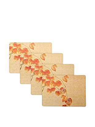 rockflowerpaper Set of 4 Dining Placemats (Chinese Lantern)