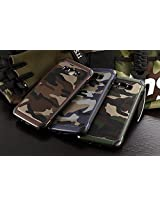 Stylish Shock Proof Dual Layer Military Camouflage Back Case Cover for Samsung Galaxy E5