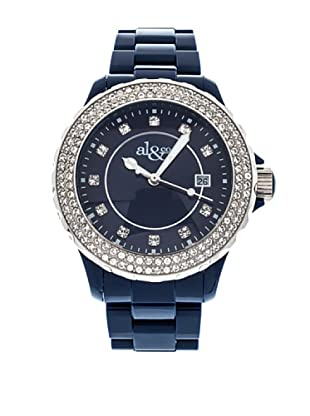 al&co Reloj Black And White Azul