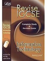 Revise IGCSE Information Technology (Letts Revise Igcse)