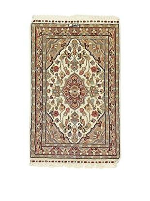 Eden Teppich Kashmirian lehmbraun 62 x 95 cm