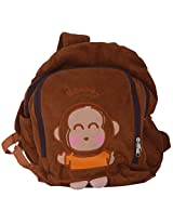 Style Addict Soft qute Monkey Bag pack - Color: Brown # RC022