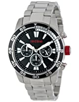 red line Men's RL-60006 Cruiser Chronograph Black Dial Stainless Steel Watch