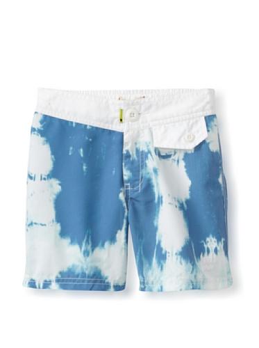 Munster Kid's Blue Hornet Board Shorts (Bluedye)