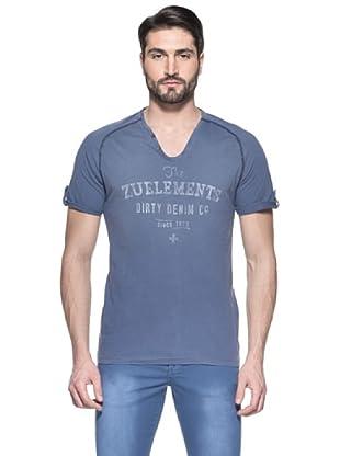 Zu Element Camiseta Blue Labour (Azul Índigo)