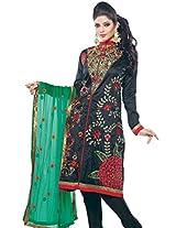 Triveni Semi Stitched Salwar Kameez With Dupatta - 111