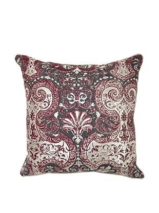 Villa Home Allure Pillow, Burgundy
