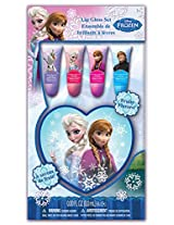Frozen Lip Tube Set with Heart Box, Strawberry, 4 Count