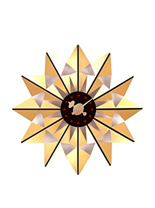 George Nelson by Verichron Butterfly Clock, Gold