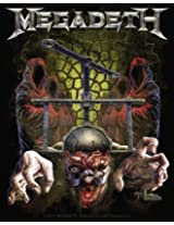 Licenses Products Megadeth Skull Press Sticker by Licenses Products