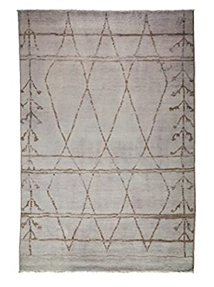 Solo Rugs Moroccan One-of-a-Kind Rug, Lavender, 6' x 9'