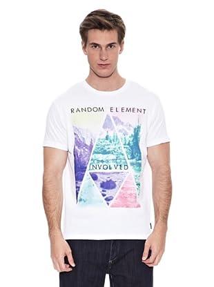 Springfield Camiseta Dm Foto Triangle (Blanco)