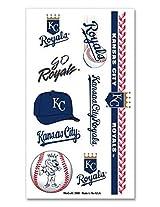 MLB Kansas City Royals Temporary Tattoo Package