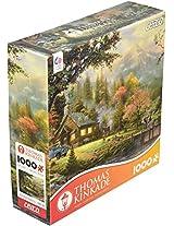 Ceaco Thomas Kinkade Peacefull Moments 1000 pcs Jigsaw Puzzle