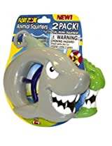Floatzone 2-Pack Animal Squirters Water Gun Toy (Color and Styles Vary)