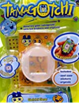Tamagotchi Connection V 4.5 Tamagotchi Decoration Kit - Memetchi Case Pack - white skin, stickers and bling