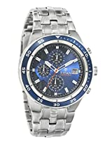 Titan Octane Analog Blue Dial Men's Watch - 9466KM04J