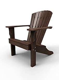 Malibu Outdoor Furniture Hyannis Adirondack Chair (Dark Brown)