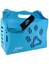 Wacky Paws Small Eco Pet Carrier Blue