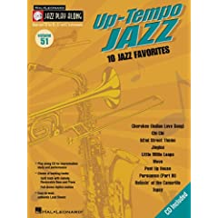 Up-tempo Jazz: 10 Jazz Favorites (Hal Leonard Jazz Play-Along)