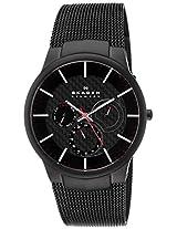 Skagen Analog Black Dial Men's Watch - 809XLTBBI
