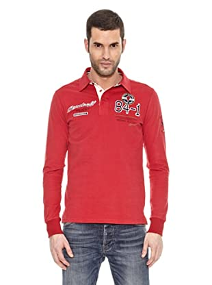 Bendorff Polo Manga Larga (Rojo)