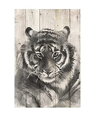 Surdic Panel de Madera Tiger Multicolor