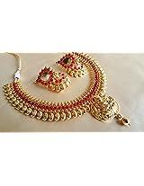 Beautiful Temple Jewellery Set
