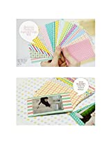 20 PCS Pastel Color Instant Films Sticker For FujiFilm Instax Mini 8 7s 25 50s