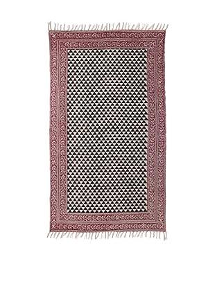 Concept Luxury Teppich Fringes grau