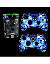 Pdp 2 Packs Xbox 360 Controller Wired Microsoft Afterglow Blue