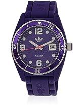 Adh6176 Purple Analog Watch