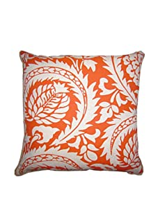 "Lacefield Designs Lisbon 20"" x 20"" Pillow, Ginger Orange"