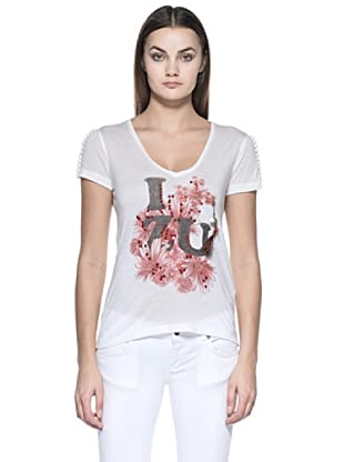 Zu Element Camiseta Wall Flowers (Blanco)