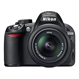 Nikon D3100 DSLR Camera with 18-55mm f/3.5-5.6 Auto Focus-S Nikkor Zoom Lens (Discontinued by Manufacturer)