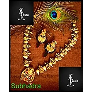 AUrA-EArTH Subhadra jewellery Set