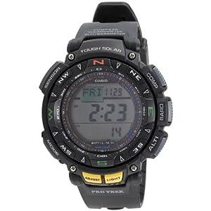 Casio Outdoor Digital Grey Dial Men's Watch - PRG-240-1DR (SL47)