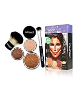 Bella Pierre All Over Face Contour and Highlighting Kit - Deep