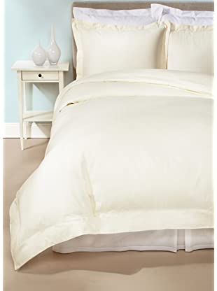 Peacock Alley Symphony Duvet Cover Set (Ivory)