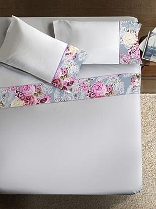 Ipersan Betttuch und Kissenbezug Armonie Flora