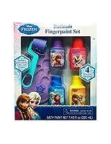 Disney Frozen Bathtub Fingerpaint Set Mess Free Soap Paints Includes Palette Roller And Stamper