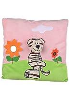 Twisha Garden Tiger With Face Pillow 13 X 13 X 3 Inch