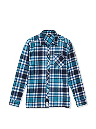 SEVENTYSEVEN Camisa Hombre Flannel Checked