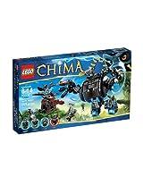 Lego, Legends of Chima, Gorzans Gorilla Striker (70008)