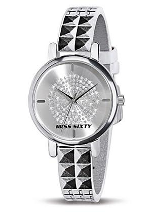 Miss Sixty Reloj Disco SHW002 Blanco / Negro
